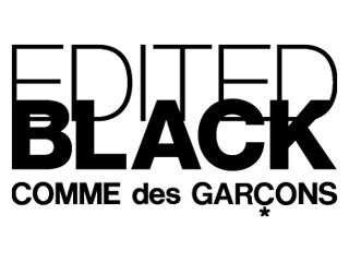 EDITED BLACKCOMME des GARÇONS